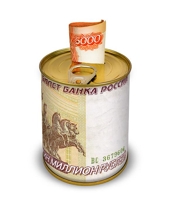 Kopilka 1000000 rubley