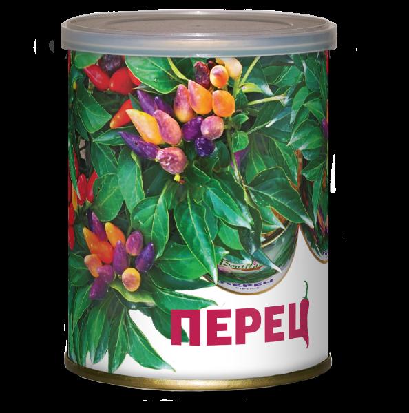 Растение в банке Перец